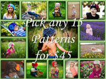 Pick 15 Patterns